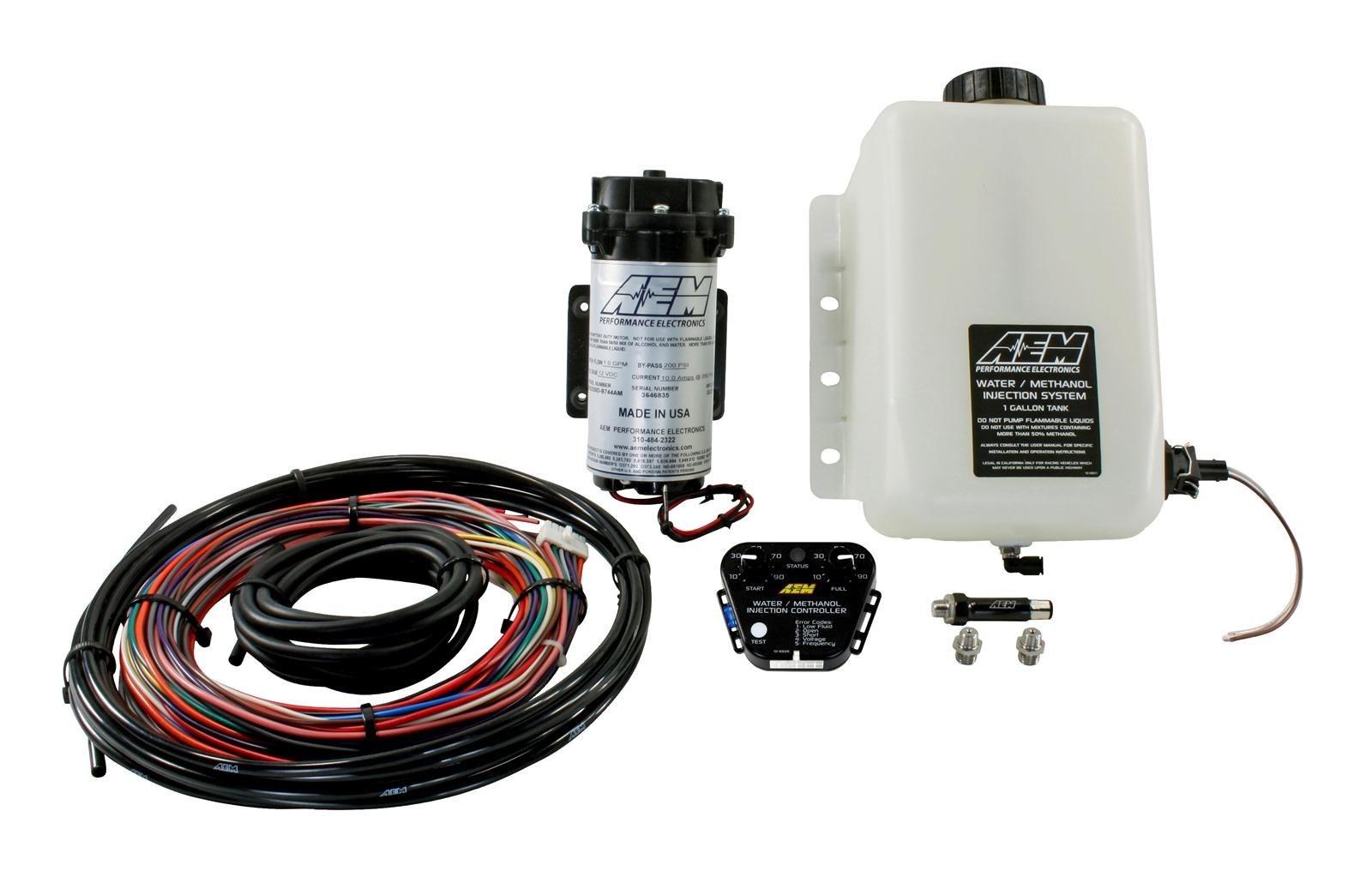 Zestaw wtrysku wody/metanolu AEM V2 + Kontroler - GRUBYGARAGE - Sklep Tuningowy